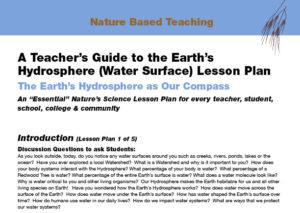 Nature Based Teaching Earths Hydrosphere