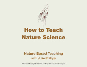 NATURE BASED TEACHING how to teach nature science