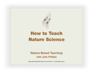 Nature Based Teaching Powerpoint